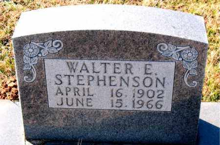 STEPHENSON, WALTER E. - Carroll County, Arkansas | WALTER E. STEPHENSON - Arkansas Gravestone Photos