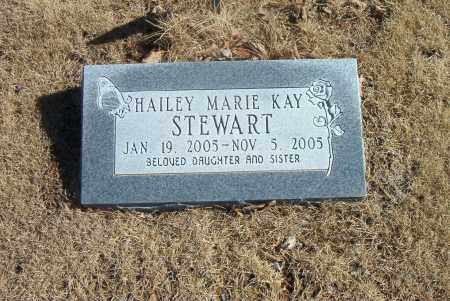STEWART, HAILEY  MARIE  KAY - Carroll County, Arkansas | HAILEY  MARIE  KAY STEWART - Arkansas Gravestone Photos