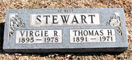 STEWART, VIRGIE R. - Carroll County, Arkansas | VIRGIE R. STEWART - Arkansas Gravestone Photos