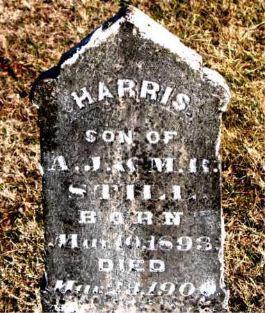 STILL, HARRIS - Carroll County, Arkansas | HARRIS STILL - Arkansas Gravestone Photos
