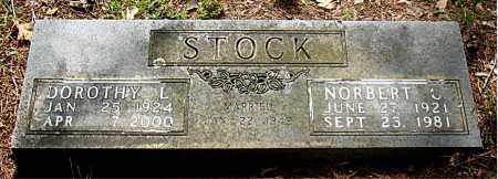 STOCK, NORBERT C - Carroll County, Arkansas | NORBERT C STOCK - Arkansas Gravestone Photos