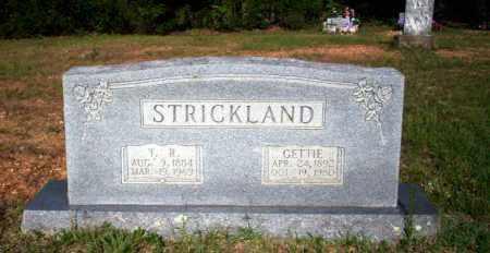 STRICKLAND, GETTIE - Carroll County, Arkansas | GETTIE STRICKLAND - Arkansas Gravestone Photos