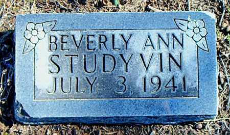 STUDYVIN, BEVERLY ANN - Carroll County, Arkansas | BEVERLY ANN STUDYVIN - Arkansas Gravestone Photos