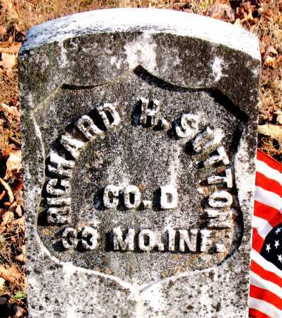 SUTTON (VETERAN UNION), RICHARD H. - Carroll County, Arkansas   RICHARD H. SUTTON (VETERAN UNION) - Arkansas Gravestone Photos