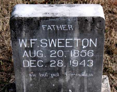 SWEETON, W. F. - Carroll County, Arkansas | W. F. SWEETON - Arkansas Gravestone Photos