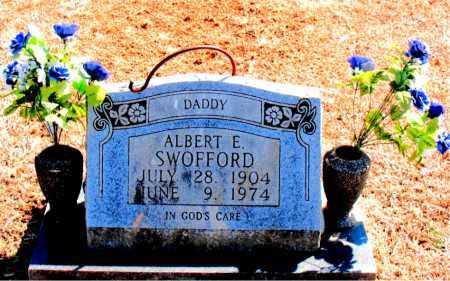SWOFFORD, ALBERT E. - Carroll County, Arkansas   ALBERT E. SWOFFORD - Arkansas Gravestone Photos