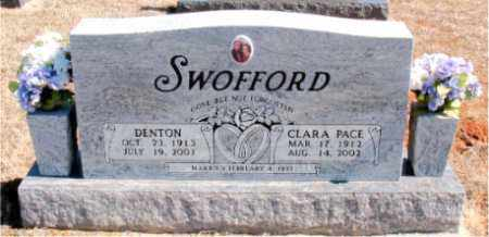 SWOFFORD, DENTON - Carroll County, Arkansas | DENTON SWOFFORD - Arkansas Gravestone Photos