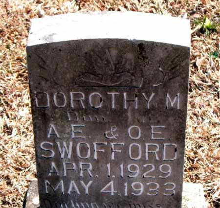SWOFFORD, DOROTHY M. - Carroll County, Arkansas | DOROTHY M. SWOFFORD - Arkansas Gravestone Photos