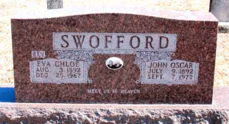 SWOFFORD, EVA CHLOE - Carroll County, Arkansas | EVA CHLOE SWOFFORD - Arkansas Gravestone Photos