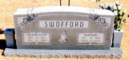SWOFFORD, FREEDA RHEA - Carroll County, Arkansas | FREEDA RHEA SWOFFORD - Arkansas Gravestone Photos