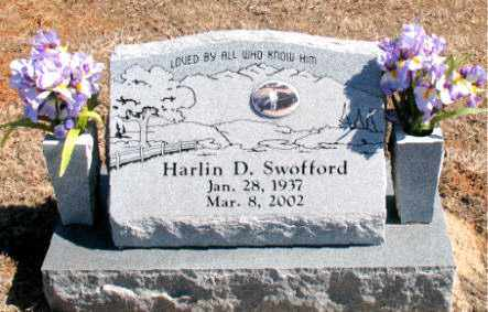 SWOFFORD, HARLIN D. - Carroll County, Arkansas | HARLIN D. SWOFFORD - Arkansas Gravestone Photos