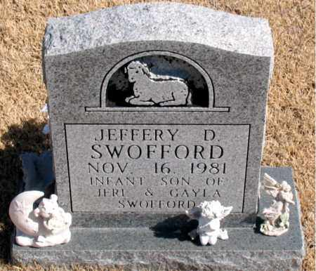 SWOFFORD, JEFFERY  D. - Carroll County, Arkansas | JEFFERY  D. SWOFFORD - Arkansas Gravestone Photos