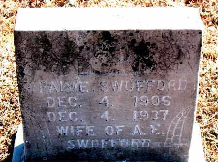 SWOFFORD, OPALIE - Carroll County, Arkansas | OPALIE SWOFFORD - Arkansas Gravestone Photos