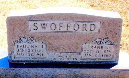 SWOFFORD, FRANK I. - Carroll County, Arkansas | FRANK I. SWOFFORD - Arkansas Gravestone Photos