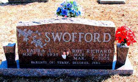 SWOFFORD, ROY RICHARD - Carroll County, Arkansas | ROY RICHARD SWOFFORD - Arkansas Gravestone Photos