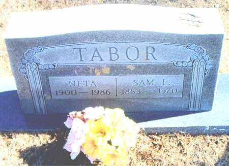 TABOR, SAM L. - Carroll County, Arkansas | SAM L. TABOR - Arkansas Gravestone Photos