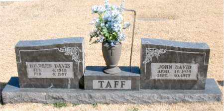 DAVIS TAFF, HILDRED - Carroll County, Arkansas | HILDRED DAVIS TAFF - Arkansas Gravestone Photos