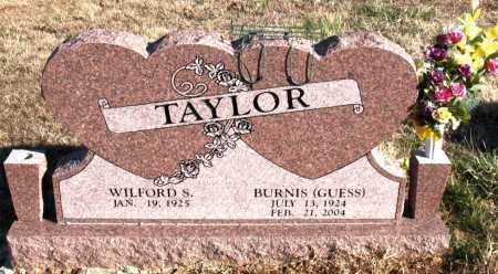 TAYLOR, BURNIS - Carroll County, Arkansas | BURNIS TAYLOR - Arkansas Gravestone Photos