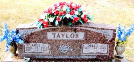 TAYLOR, DELLA H. - Carroll County, Arkansas | DELLA H. TAYLOR - Arkansas Gravestone Photos