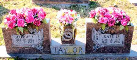 TAYLOR, GEORGIE  L. - Carroll County, Arkansas | GEORGIE  L. TAYLOR - Arkansas Gravestone Photos