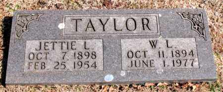 TAYLOR, JETTIE  L. - Carroll County, Arkansas | JETTIE  L. TAYLOR - Arkansas Gravestone Photos