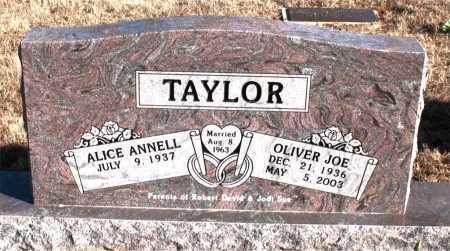TAYLOR, OLIVER JOE - Carroll County, Arkansas | OLIVER JOE TAYLOR - Arkansas Gravestone Photos