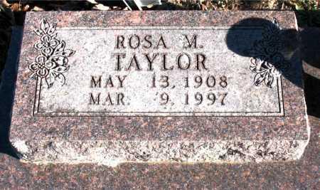 TAYLOR, ROSA M. - Carroll County, Arkansas | ROSA M. TAYLOR - Arkansas Gravestone Photos