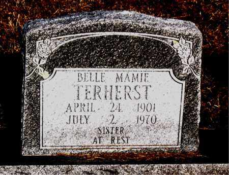 TERHERST, BELLE MAMIE - Carroll County, Arkansas | BELLE MAMIE TERHERST - Arkansas Gravestone Photos