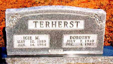 TERHERST, ICIE M - Carroll County, Arkansas | ICIE M TERHERST - Arkansas Gravestone Photos