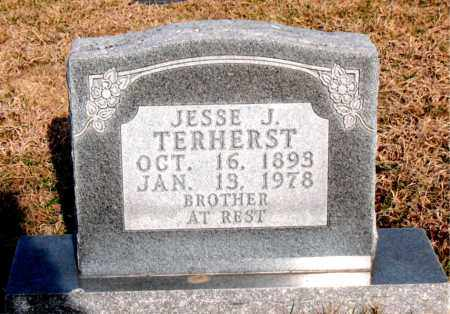 TERHERST, JESSIE J - Carroll County, Arkansas | JESSIE J TERHERST - Arkansas Gravestone Photos