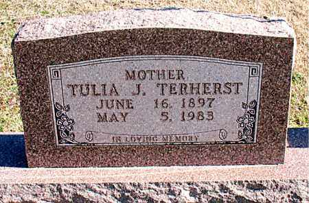 TERHERST, TULIA J - Carroll County, Arkansas | TULIA J TERHERST - Arkansas Gravestone Photos