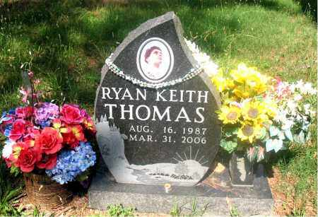 THOMAS, RYAN KEITH - Carroll County, Arkansas | RYAN KEITH THOMAS - Arkansas Gravestone Photos