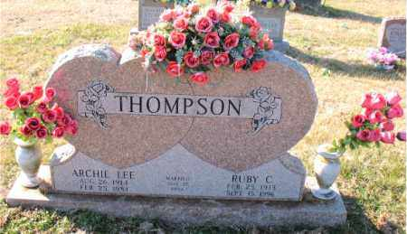 THOMPSON, RUBY  C. - Carroll County, Arkansas | RUBY  C. THOMPSON - Arkansas Gravestone Photos