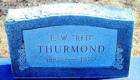THURMOND, E. W. (RED) - Carroll County, Arkansas | E. W. (RED) THURMOND - Arkansas Gravestone Photos