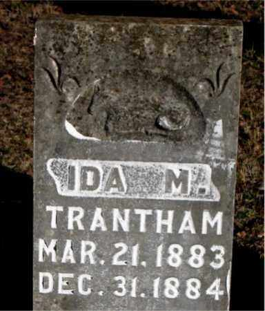TRANTHAM, IDA M. - Carroll County, Arkansas | IDA M. TRANTHAM - Arkansas Gravestone Photos