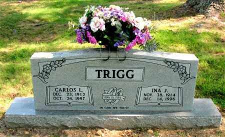 TRIGG, INA J - Carroll County, Arkansas | INA J TRIGG - Arkansas Gravestone Photos