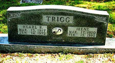 TRIGG, IRENE - Carroll County, Arkansas | IRENE TRIGG - Arkansas Gravestone Photos