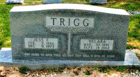 TRIGG, VELARA - Carroll County, Arkansas | VELARA TRIGG - Arkansas Gravestone Photos