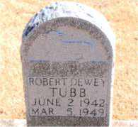 TUBB, ROBERT DEWEY - Carroll County, Arkansas | ROBERT DEWEY TUBB - Arkansas Gravestone Photos