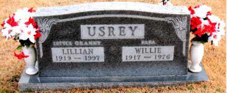 USREY, WILLIE - Carroll County, Arkansas | WILLIE USREY - Arkansas Gravestone Photos