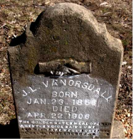 VANORSDALL, J.L. - Carroll County, Arkansas | J.L. VANORSDALL - Arkansas Gravestone Photos