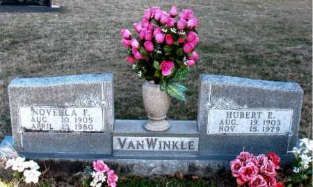 VANWINKLE, HUBERT E. - Carroll County, Arkansas | HUBERT E. VANWINKLE - Arkansas Gravestone Photos