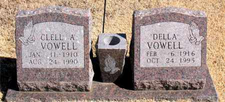 VOWELL, CLELL  A. - Carroll County, Arkansas | CLELL  A. VOWELL - Arkansas Gravestone Photos