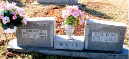 WAKE, HIRAM S. - Carroll County, Arkansas | HIRAM S. WAKE - Arkansas Gravestone Photos