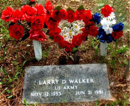WALKER (VETERAN), LARRY D - Carroll County, Arkansas | LARRY D WALKER (VETERAN) - Arkansas Gravestone Photos