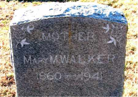 WALKER, MARY  M. - Carroll County, Arkansas | MARY  M. WALKER - Arkansas Gravestone Photos