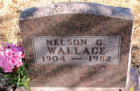 WALLACE, NELSON G. - Carroll County, Arkansas | NELSON G. WALLACE - Arkansas Gravestone Photos