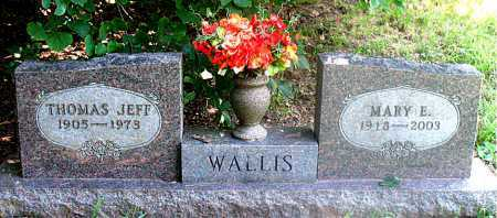 WALLIS, MARY ETHEL - Carroll County, Arkansas | MARY ETHEL WALLIS - Arkansas Gravestone Photos