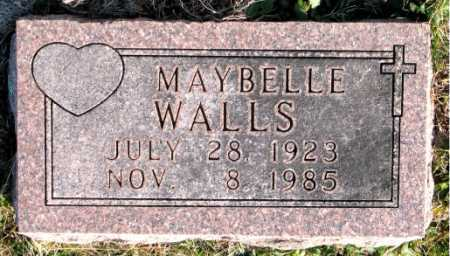 WALLS, MAYBELLE - Carroll County, Arkansas | MAYBELLE WALLS - Arkansas Gravestone Photos