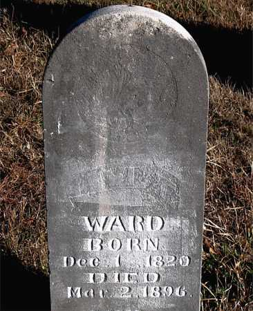 WARD, LEVI T. - Carroll County, Arkansas | LEVI T. WARD - Arkansas Gravestone Photos
